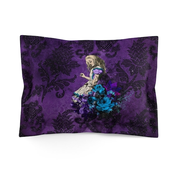 Alice Contemplates Her Situation, Standard Size Pillow Sham, Alice In Wonderland