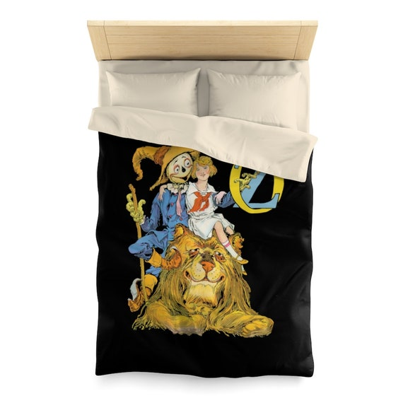 Dorothy, The Scarecrow & The Cowardly Lion, Duvet Cover, Wizard Of Oz