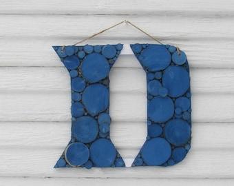 7d3efe2a0 Handmade Duke Blue Devils Wooden Round Wall Sign