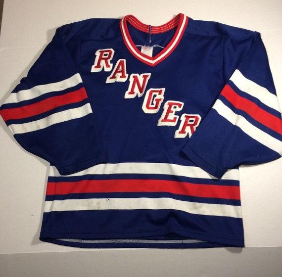 Vintage CCM New York Rangers Jersey Small Mens Maska Made  a684cf80f