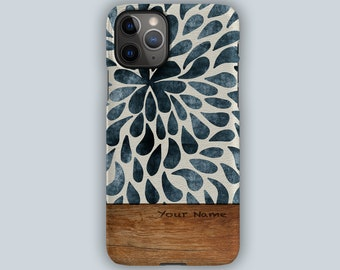 BLUE SPLASH Case   For Apple iPhone 13, iPhone 13 Pro, iPhone 12, iPhone 12 Pro, iPhone 11, iPhone SE, iPhone Xr, iPhone Xs, iPhone X
