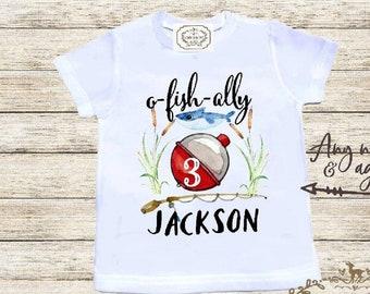 ae8e311a Fish Birthday Shirt Ofishally Three Third Birthday Boy Birthday Outfit  Ofishally 3 Boy 3rd Birthday Outfit Personalized 3rd Birthday Shirt
