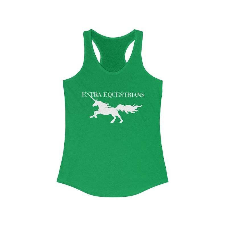 Extra Equestrian Unicorn Women/'s Ideal Racerback Tank
