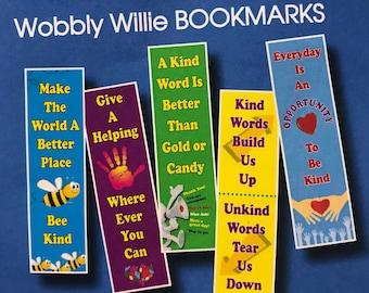 Wobbly Willie Bookmarks