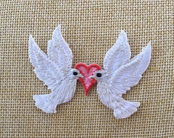 Rainbow LGBT Rights Advocate Iron on Patch Feminist World Peace Dove Patch