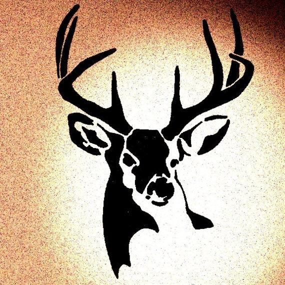 Deer Animal Mylar AIRRUSH Painting Wall Art Stencil