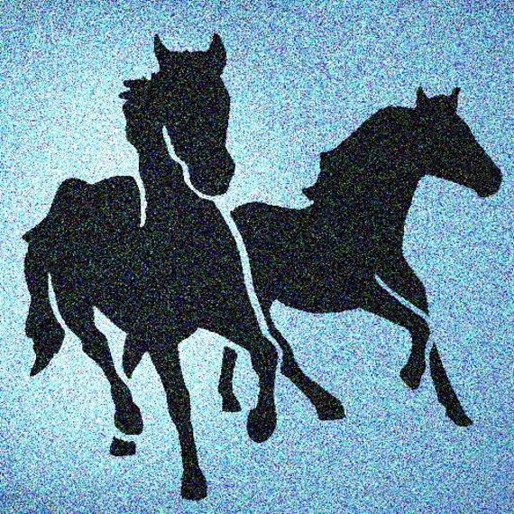 Dala Horse Reusable Mylar Stencil Art Supplies
