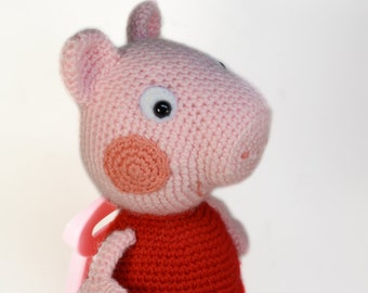 Peppa Pig Soft Toy Etsy