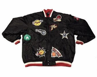 1567a2152c8a Vintage NBA Logo Jacket