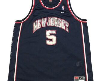 a591c378816d Vintage New Jersey Nets Jason Kidd Jersey