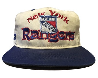 6767ccd81a710 Vintage New York Rangers Hat