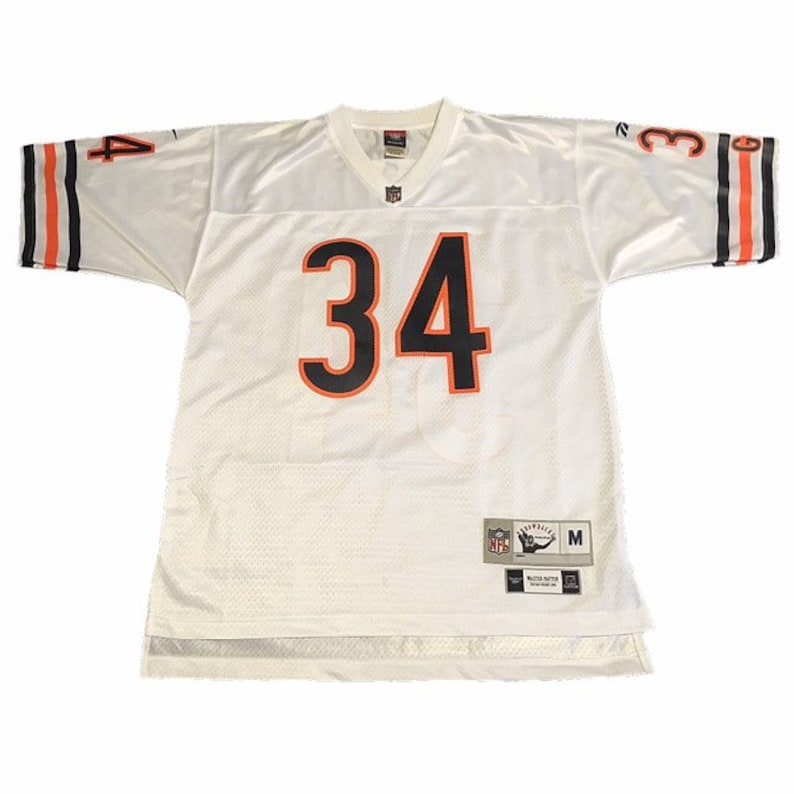 best authentic 4e6bf 93710 Throwback Chicago Bears Walter Payton Jersey