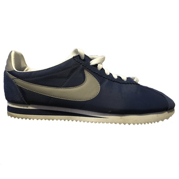 Blue Nike Cortez Shoes