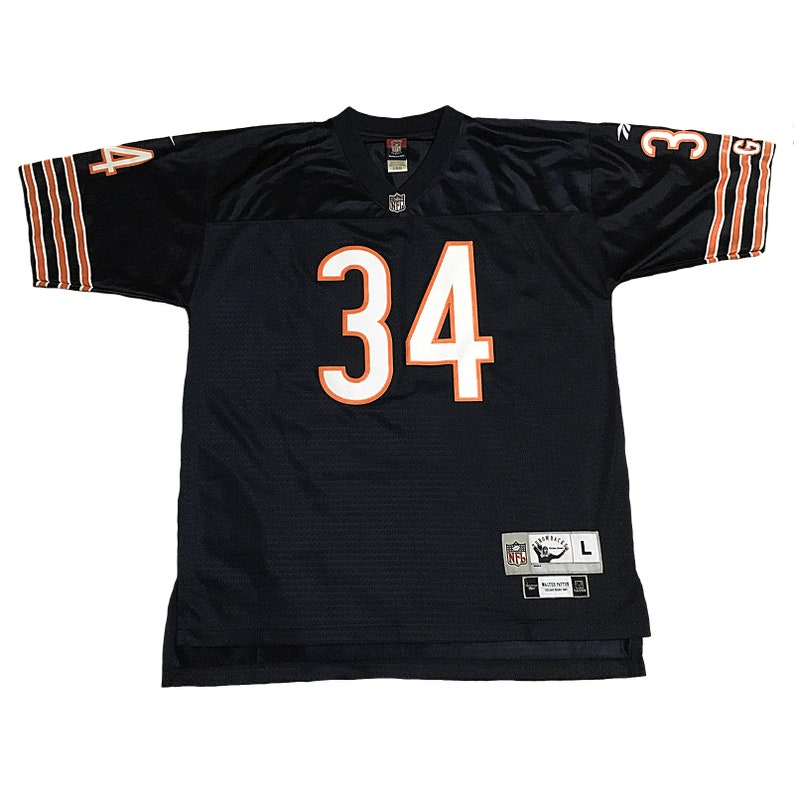 best authentic 2d232 e8281 Throwback Chicago Bears Walter Payton Jersey