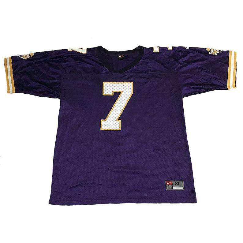 cheaper 19ac4 3263a Vintage Minnesota Vikings Randall Cunningham Jersey