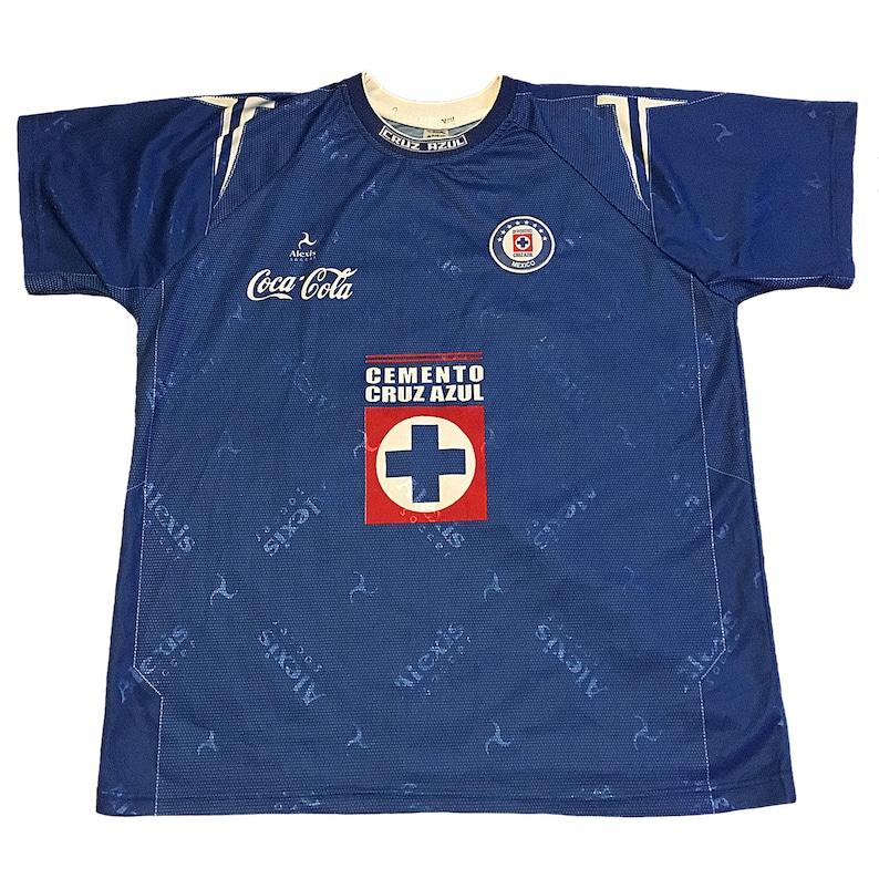 3adc458fb2a Vintage Cruz Azul FC Jersey