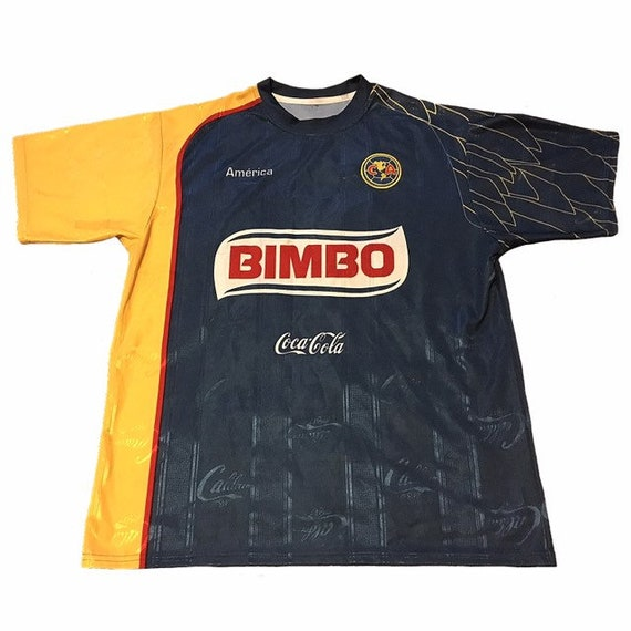 new product fda9a 80984 Vintage Club America Soccer Jersey