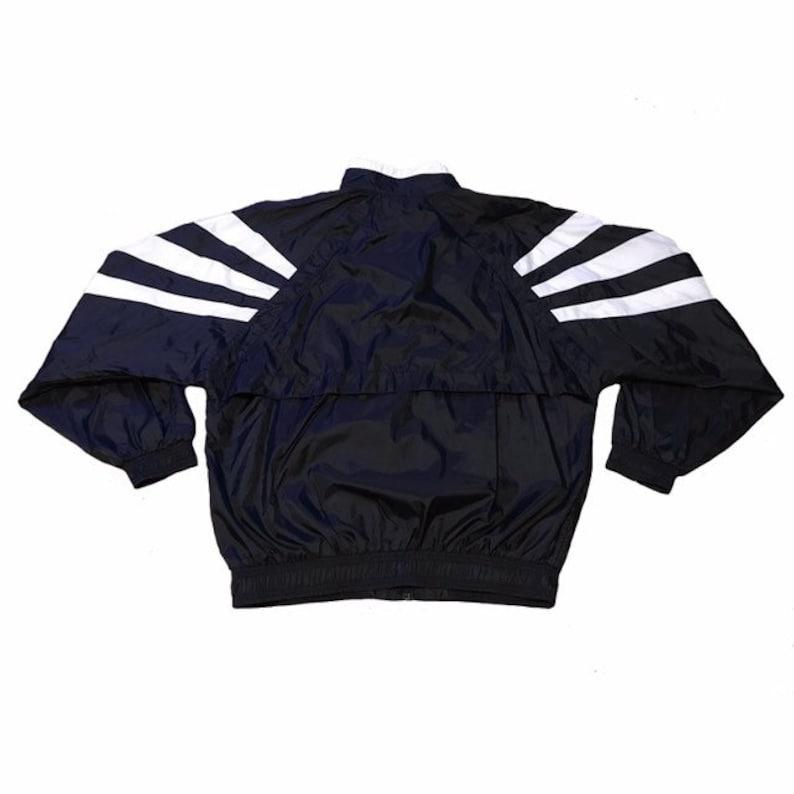 ab3b56edb110 Vintage Adidas Striped Jacket