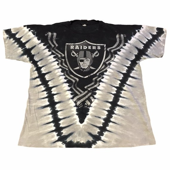 Vintage Oakland Raiders Tie-Dye T-Shirt