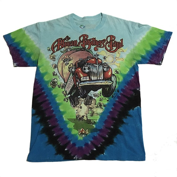 Allman Brothers Band Tie-Dye T-Shirt