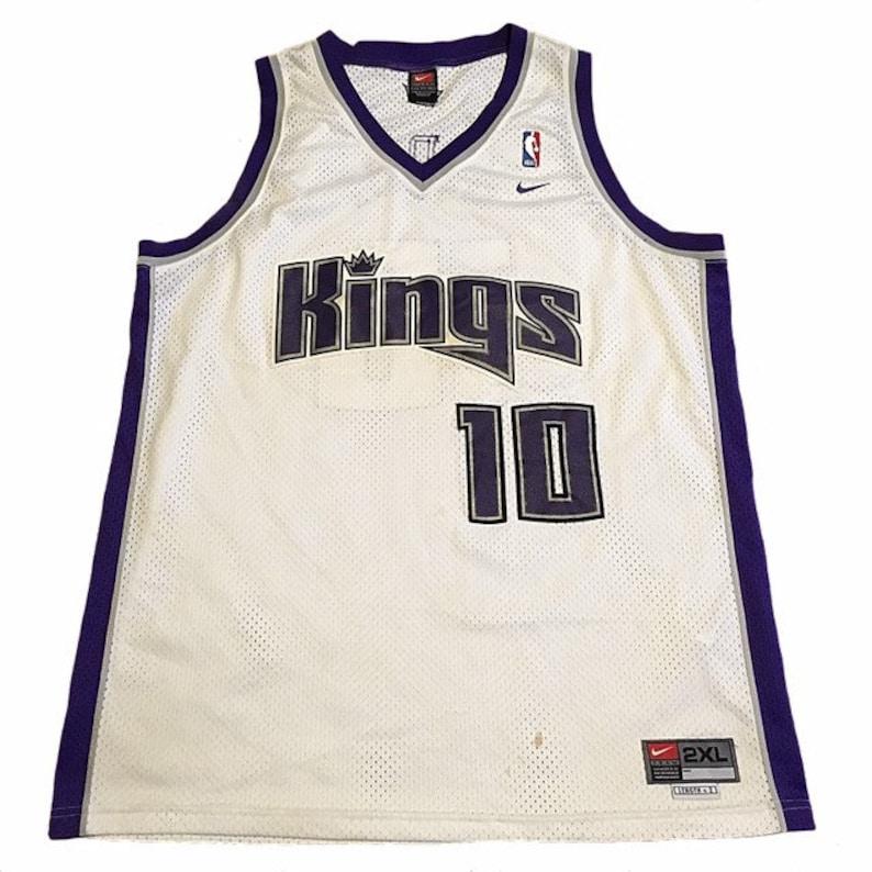 new arrival 08a27 fd37e Vintage Sacramento Kings Mike Bibby Jersey