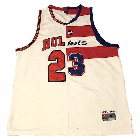 purchase cheap ffde9 ef12e Michael Jordan Chicago Bulls/Washington Bullets Jersey
