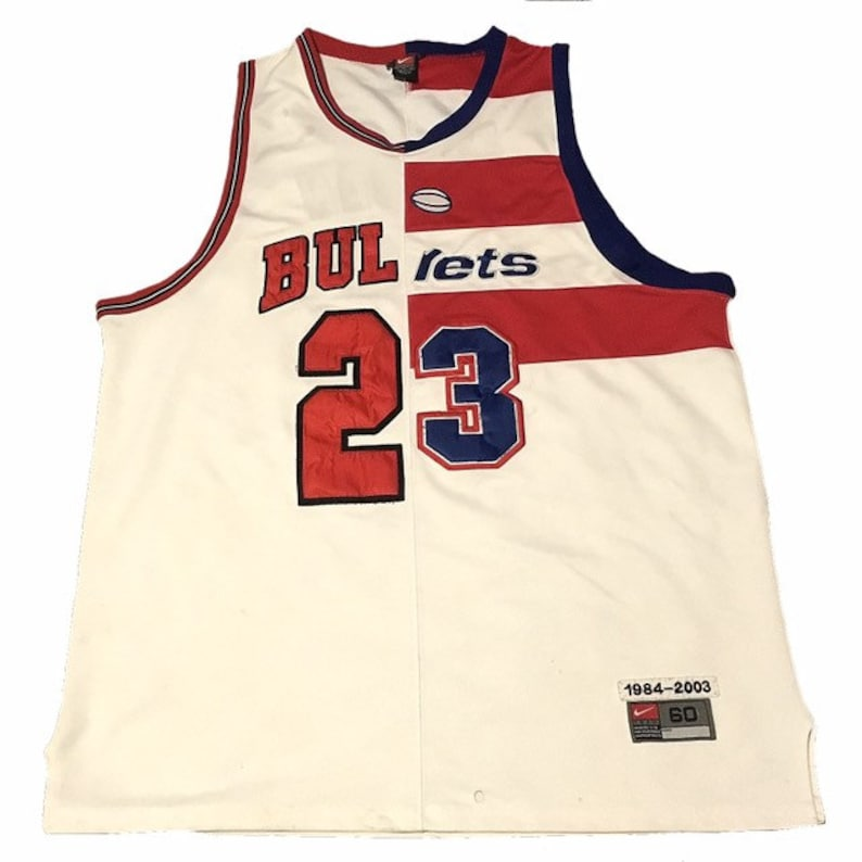 8a7a4890f8 Michael Jordan Chicago Bulls Washington Bullets Jersey