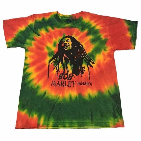 Vintage Bob Marley Tie Dye T Shirt