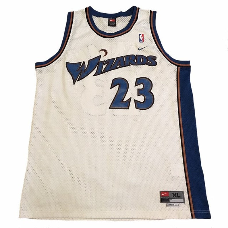 cheap for discount 65e9d 86abe Vintage Washington Wizards Michael Jordan Jersey