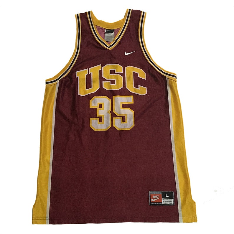 pretty nice b033d dfcc7 Vintage USC Trojans #35 Jersey