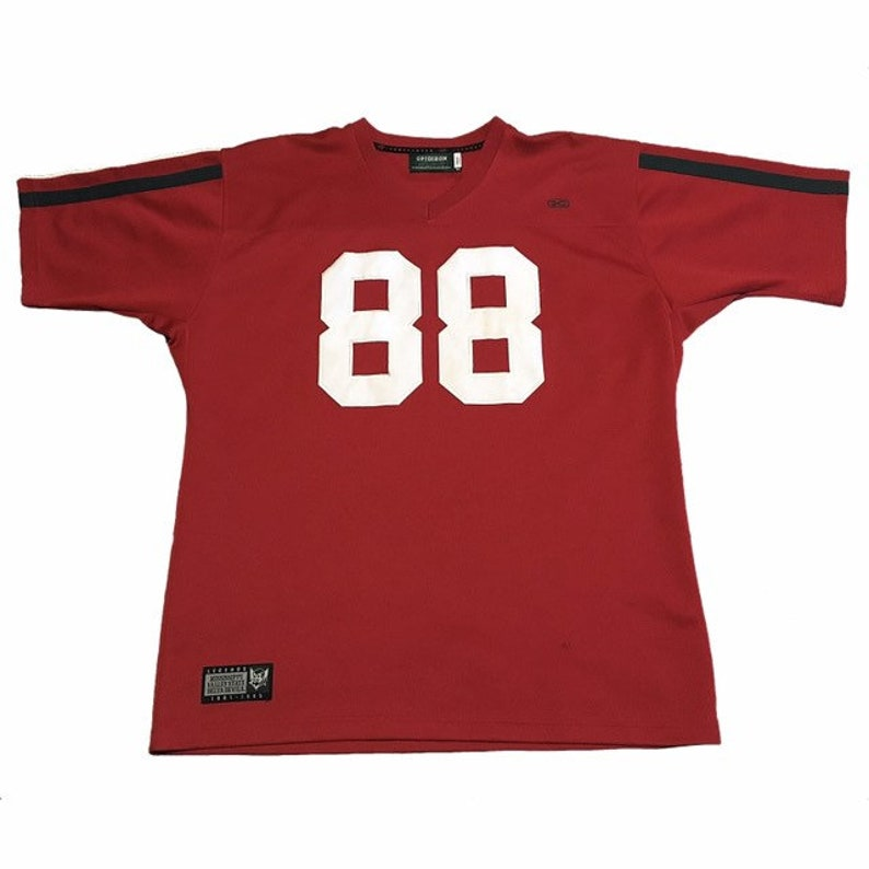 best website 4f0c2 dc50f Throwback Jerry Rice College Jersey