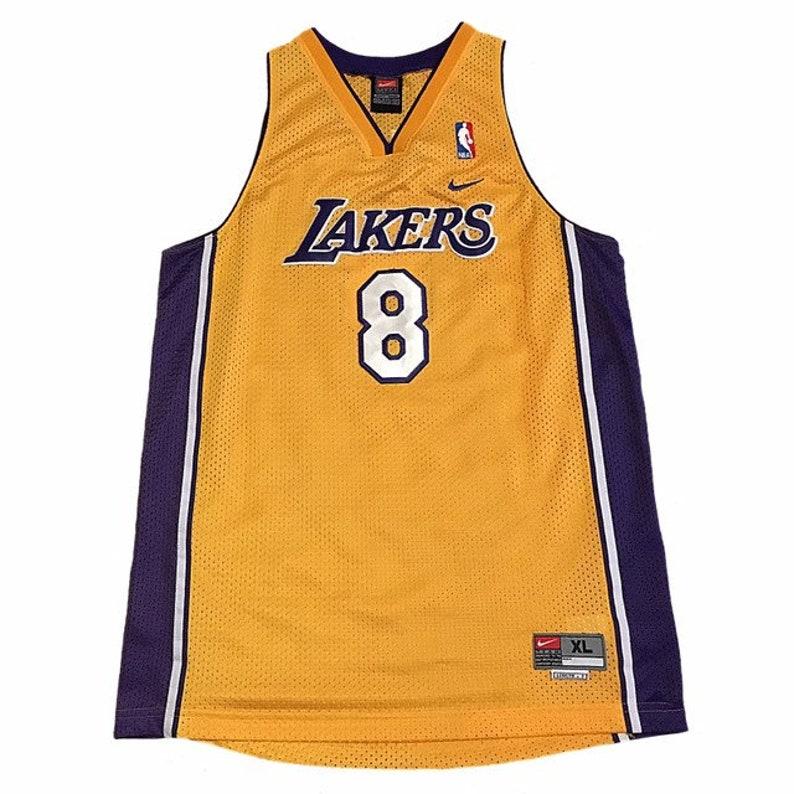 huge selection of ca419 e7d84 Vintage LA Lakers Kobe Bryant Jersey