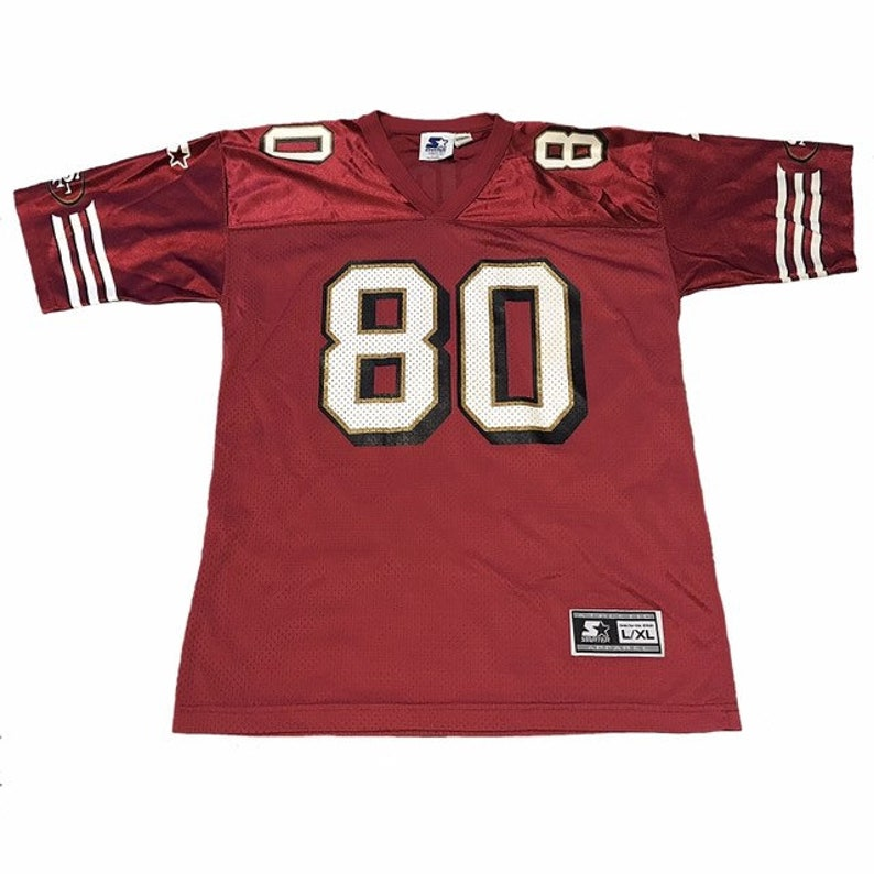separation shoes 0deb4 d3e15 Vintage San Francisco 49ers Jerry Rice Jersey