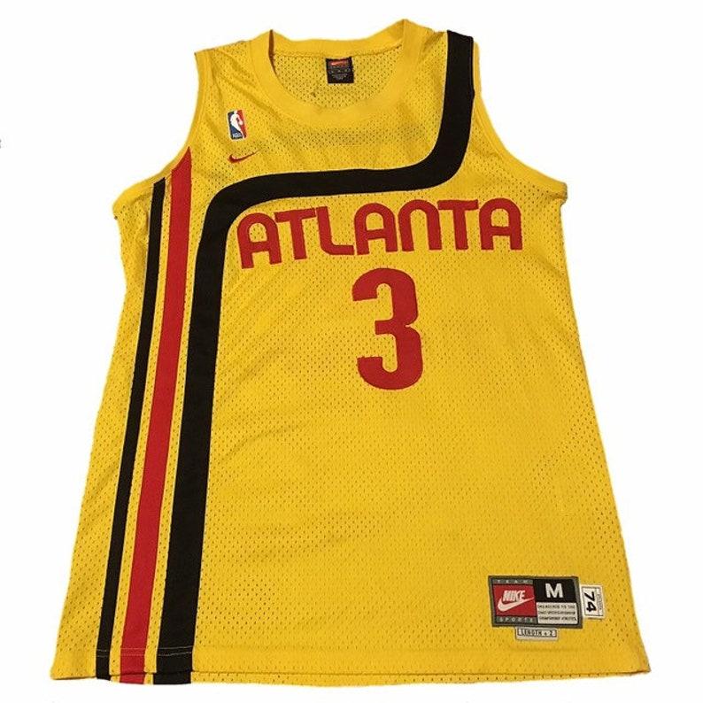 99c40146a68 Throwback Atlanta Hawks Shareef Abdur Rahim Jersey