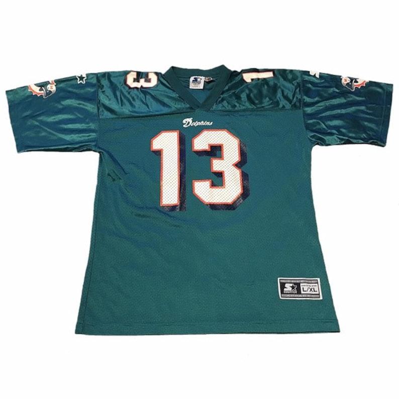 arrives 372d7 e9e58 Vintage Miami Dolphins Dan Marino Jersey