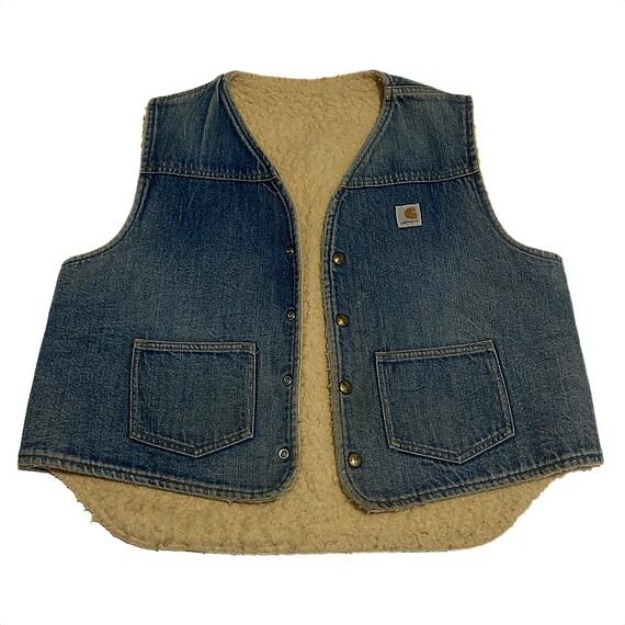 Vintage Carhartt Sherpa Vest