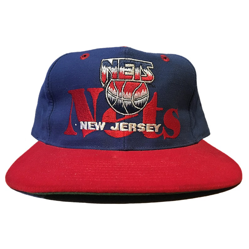 new arrival 22b20 50d50 Vintage New Jersey Nets Hat