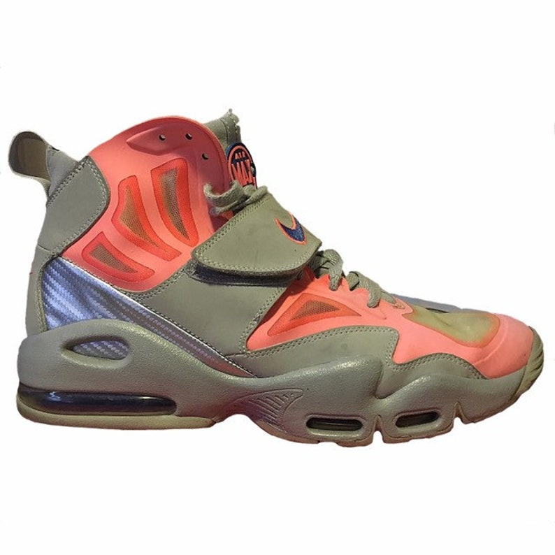 new concept 430e4 f7a71 Nike Air Max Express Hot Punch Shoes   Etsy