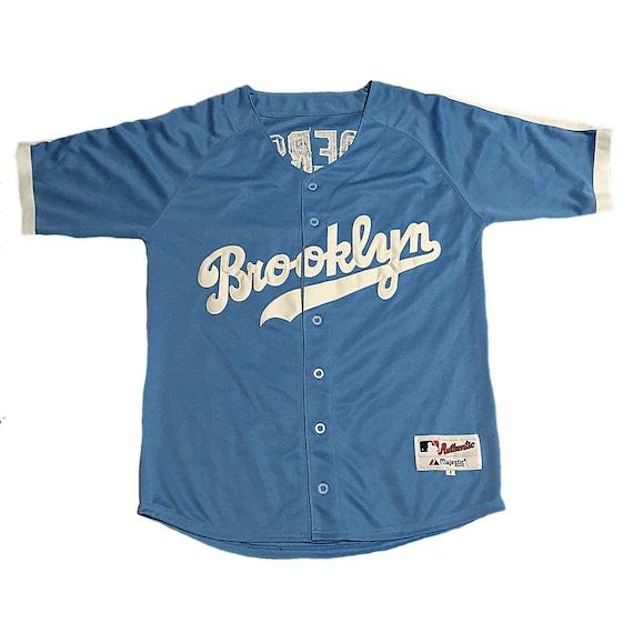 timeless design cdb21 0281e Throwback Brooklyn Dodgers Joc Pederson Jersey