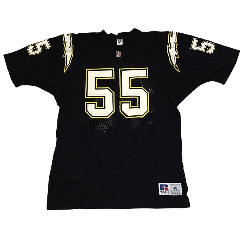 buy online cce4e 1a610 Vintage San Diego Chargers Junior Seau Jersey