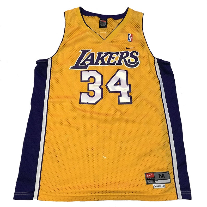 check out b7599 873b3 Vintage LA Lakers Shaquille O'Neal Jersey