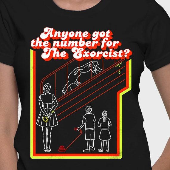 ece34efa29b4b ... exorciste Appelez l exorciste   exorciste tee, T-shirt, chemise  exorciste, ...
