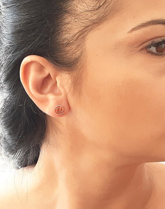 Yellow Gold Earrings Minimal Gold Earrings 14k Solid Gold Star Stud Earrings Small Stud Earrings Gold Tiny Studs 5.30mm Star Earrings