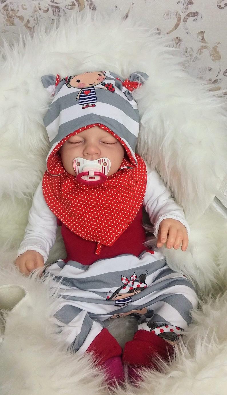 Babyset Pump Pants Hat Neck Scarf image 0