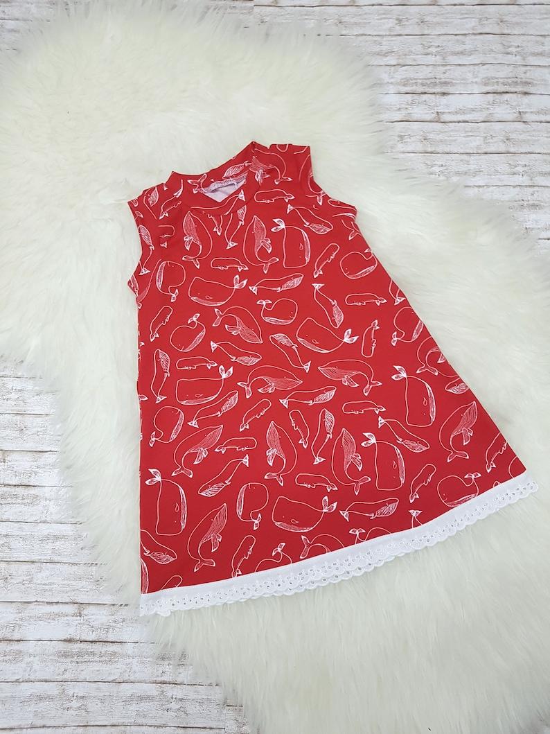 Dress summer dress girl dress maritim size 56-92 image 0