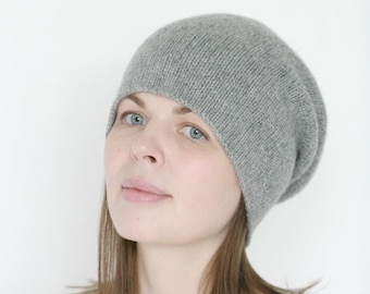 Life is Better with Goats Women and Men Knitted Hat Soft Pure Color Hat