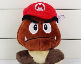 b8c08a1b5c0 Goomba Plush Toy Nintendo Super Mario Bros Novelty Key Chain 12CM Party  Favors Boys Girls Gifts Stocking Filler stuffed soft toy teddy bear