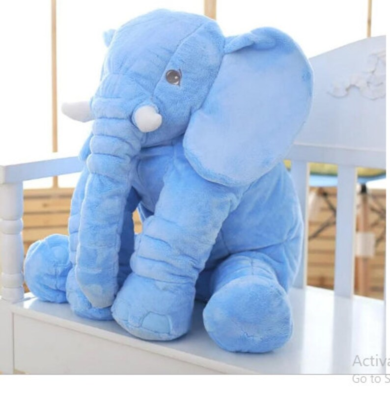Grey Elephant Plush Stuffed Animal Soft Toy Novelty Gift for image 8