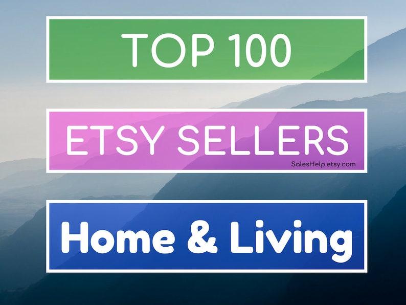 b5a6de95a5ed1 Top Etsy Sellers HOME & LIVING, Best on Etsy, Bestsellers, Top Selling  Shops, Best Selling Home Shops Trends, Popular Home Living Shops List
