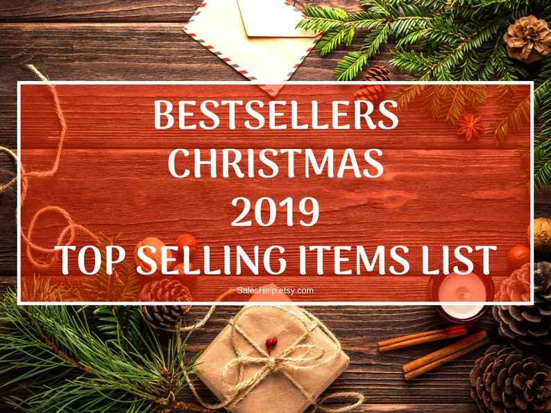 Best Selling Items List, 2019 Etsy Bestsellers, Most Sold Items, Top  Selling Items, Trending Now, Most Popular Right Now, Christmas Trends
